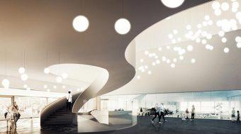 SICA - Logistique construction centre sportif Prilly - Suisse