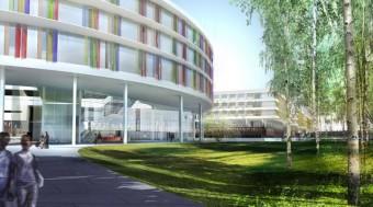 Logistique chantier hospitalier SICA - Loiret - C.H.R. Orléans