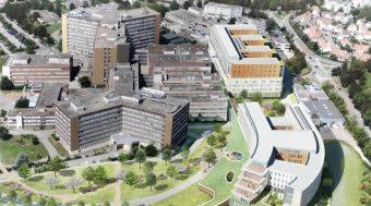 Logistique Bâtiment SICA - Hopitaux - Strasbourg